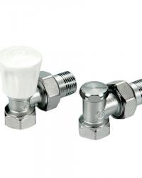 Комплект клапанов угловой для радиаторов R705K Giacomini