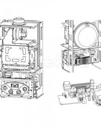 Газовый настенный котел WOLF FGG-K-24