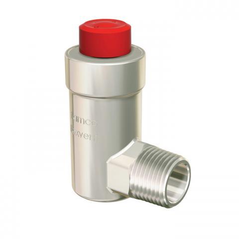 Автоматический поплавковый воздухоотводчик Flexvent H, никелированый
